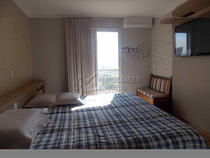 Suíte - Apartamento Condomínio Edifício Raritá, Itatiba, Centro,Vila Santa Cruz, SP À Venda, 3 Quartos, 120m² - FCAP30436 - 3
