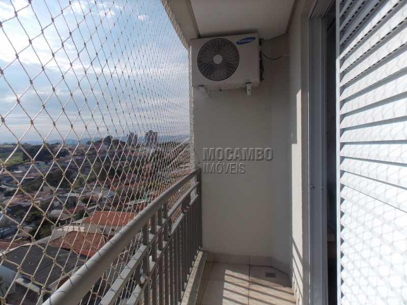Varanda - Apartamento Condomínio Edifício Raritá, Itatiba, Centro,Vila Santa Cruz, SP À Venda, 3 Quartos, 120m² - FCAP30436 - 8