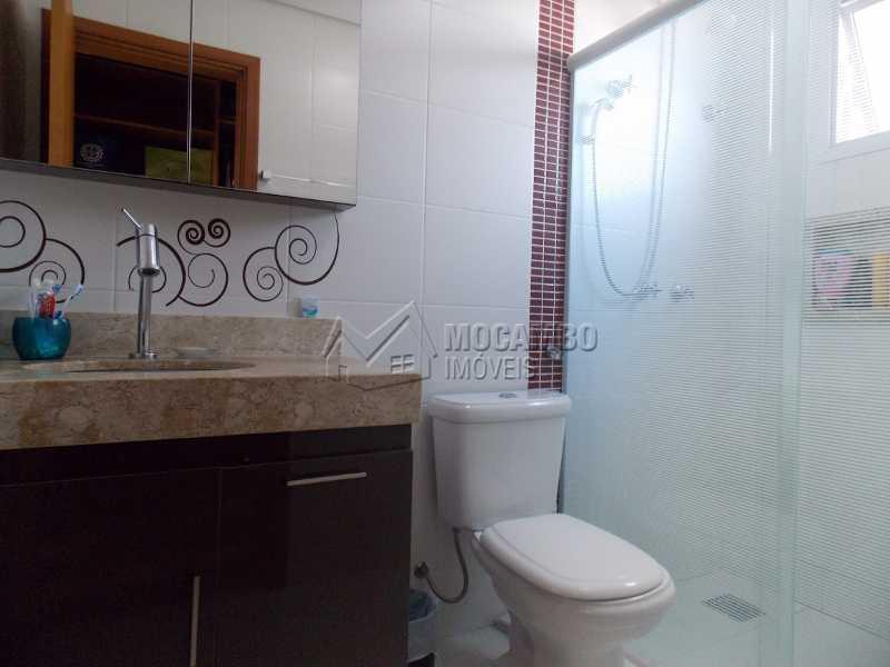 Banheiro suíte - Apartamento Condomínio Edifício Raritá, Itatiba, Centro,Vila Santa Cruz, SP À Venda, 3 Quartos, 120m² - FCAP30436 - 4
