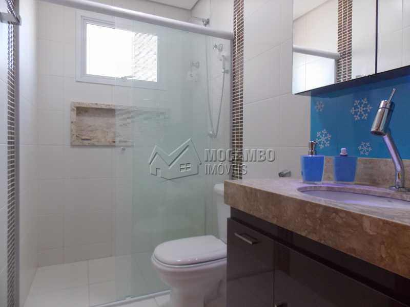 Banheiro Social - Apartamento Condomínio Edifício Raritá, Itatiba, Centro,Vila Santa Cruz, SP À Venda, 3 Quartos, 120m² - FCAP30436 - 7