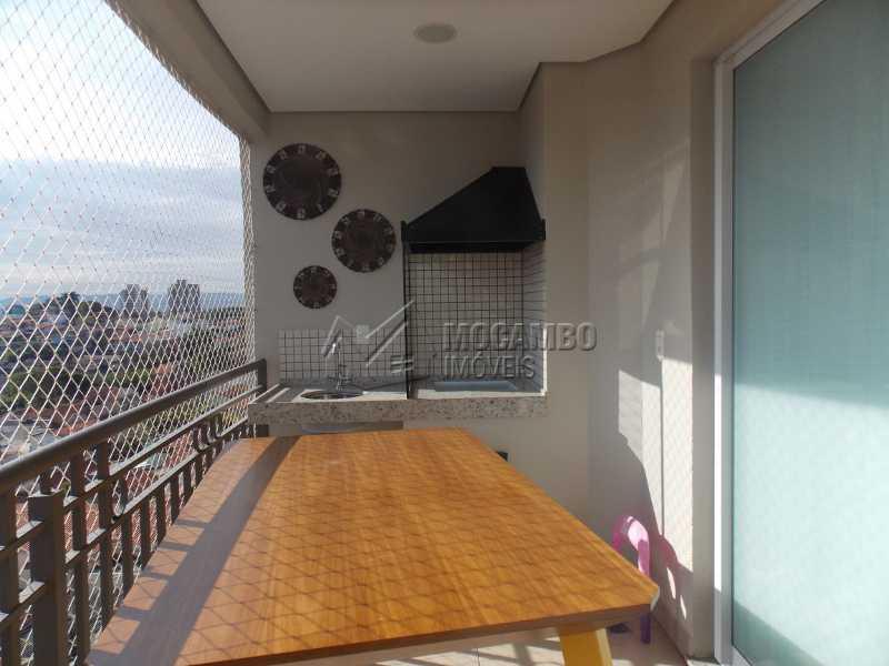 Varanda - Apartamento Condomínio Edifício Raritá, Itatiba, Centro,Vila Santa Cruz, SP À Venda, 3 Quartos, 120m² - FCAP30436 - 9