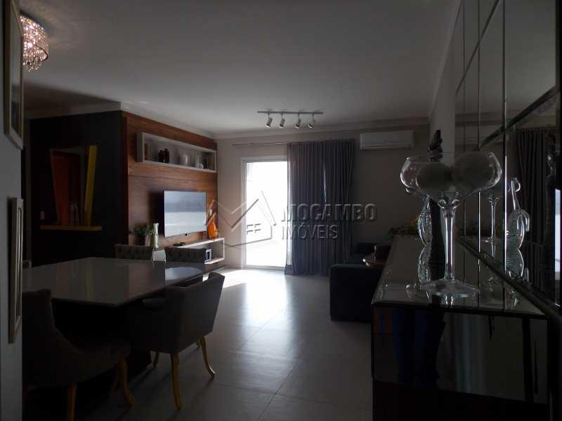 Sala - Apartamento Condomínio Edifício Raritá, Itatiba, Centro,Vila Santa Cruz, SP À Venda, 3 Quartos, 120m² - FCAP30436 - 10