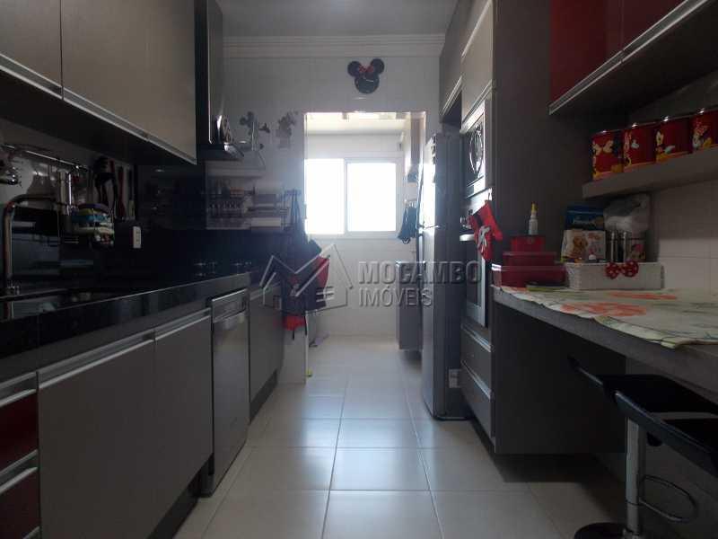 Cozinha - Apartamento Condomínio Edifício Raritá, Itatiba, Centro,Vila Santa Cruz, SP À Venda, 3 Quartos, 120m² - FCAP30436 - 12