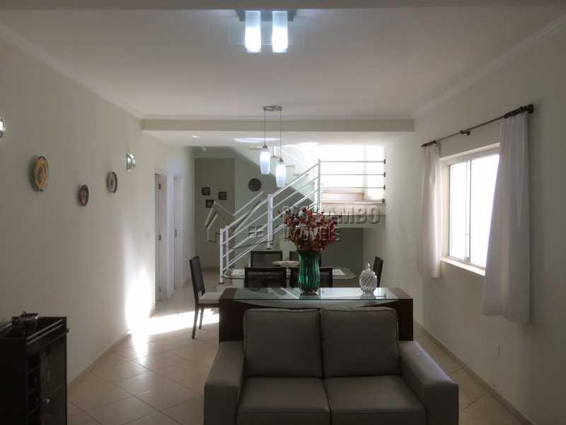 Sala - Casa em Condomínio 3 quartos à venda Itatiba,SP - R$ 780.000 - FCCN30342 - 4
