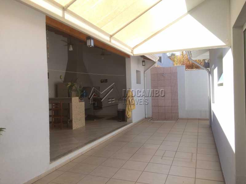 Quintal - Casa em Condomínio 3 quartos à venda Itatiba,SP - R$ 780.000 - FCCN30342 - 1
