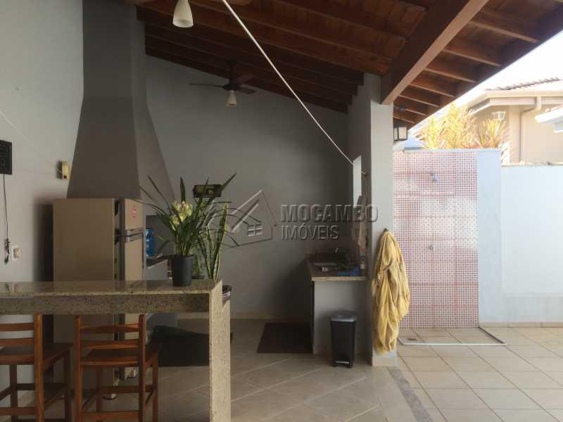 Área de churrasqueira - Casa em Condomínio 3 quartos à venda Itatiba,SP - R$ 780.000 - FCCN30342 - 22