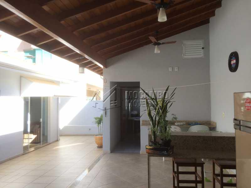 Quintal - Casa em Condomínio 3 quartos à venda Itatiba,SP - R$ 780.000 - FCCN30342 - 23