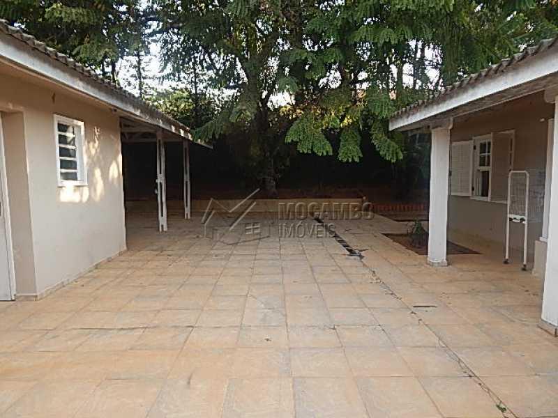 Area externa Serviço - Casa em Condominio À Venda - Itatiba - SP - Ville Chamonix - FCCN30344 - 20
