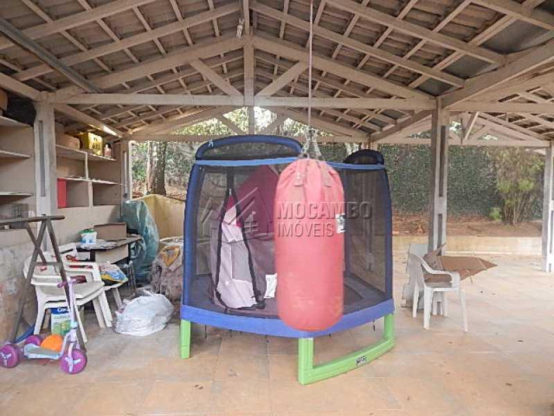 Garagem coberta para 4  - Casa em Condomínio 3 quartos à venda Itatiba,SP - R$ 1.065.000 - FCCN30344 - 25