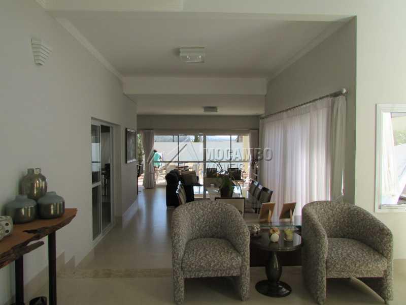 Sala de estar - Casa em Condomínio 4 quartos à venda Itatiba,SP - R$ 1.600.000 - FCCN40114 - 17