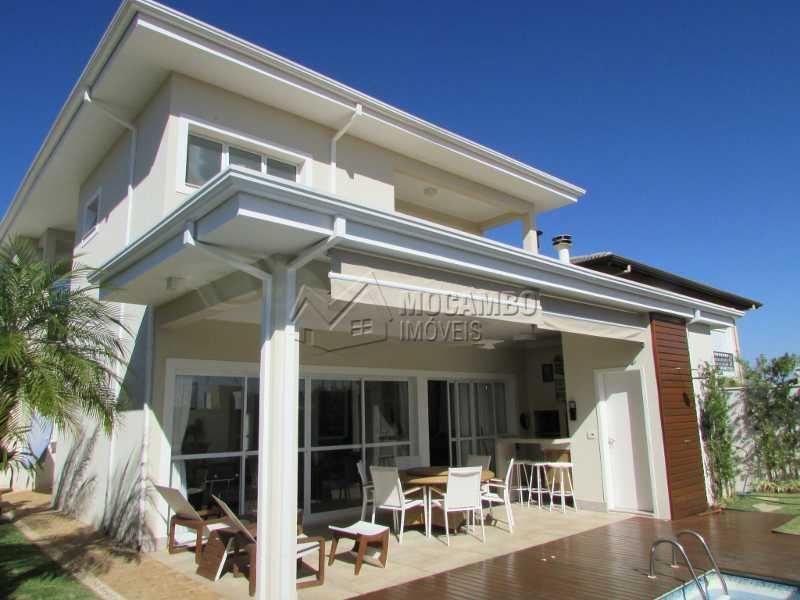 Área externa - Casa em Condomínio 4 quartos à venda Itatiba,SP - R$ 1.600.000 - FCCN40114 - 24