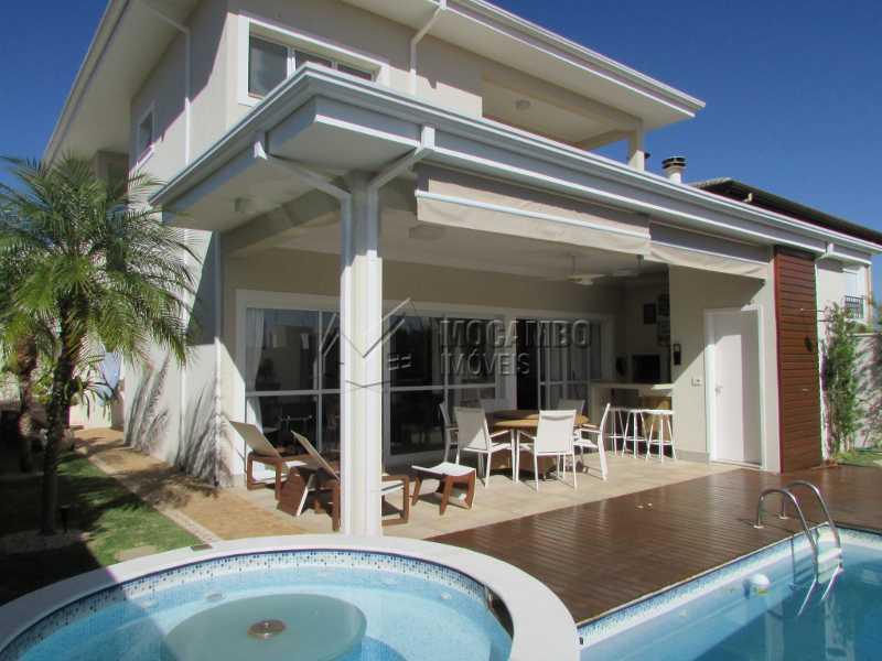 Área externa - Casa em Condomínio 4 quartos à venda Itatiba,SP - R$ 1.600.000 - FCCN40114 - 1