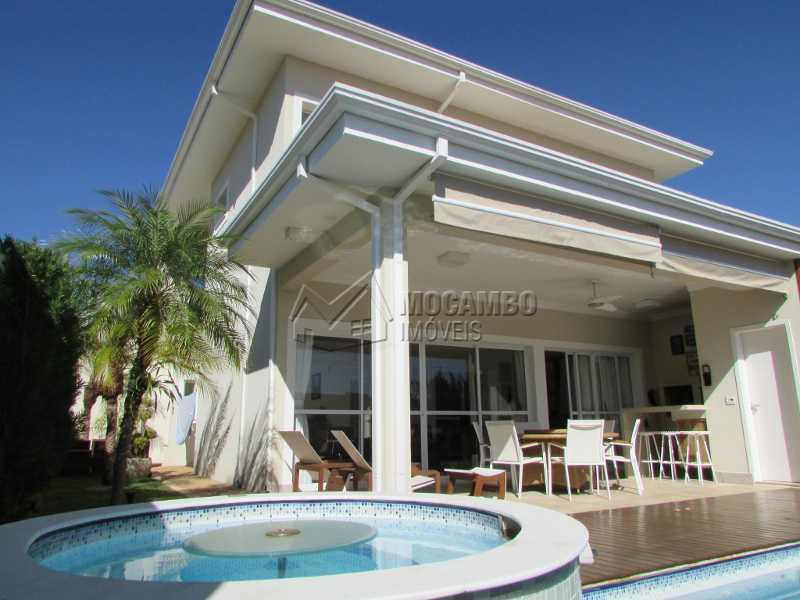 Área externa - Casa em Condomínio 4 quartos à venda Itatiba,SP - R$ 1.600.000 - FCCN40114 - 25
