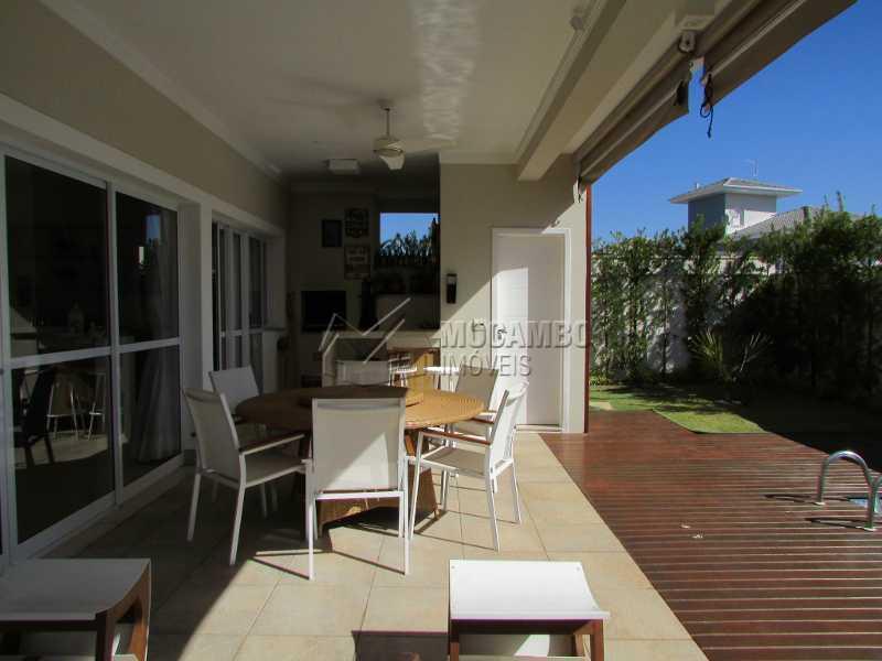 Área gourmet - Casa em Condomínio 4 quartos à venda Itatiba,SP - R$ 1.600.000 - FCCN40114 - 28