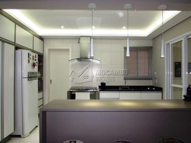Cozina - Apartamento Condomínio Edifício Panorama, Itatiba, Centro, SP À Venda, 3 Quartos, 118m² - FCAP30439 - 9