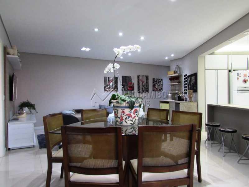 Jantar - Apartamento Condomínio Edifício Panorama, Itatiba, Centro, SP À Venda, 3 Quartos, 118m² - FCAP30439 - 3
