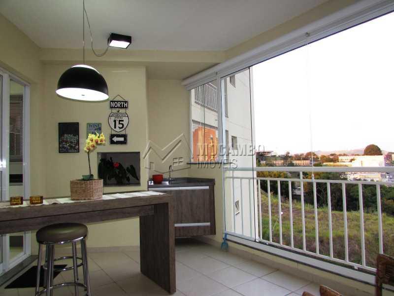 Varanda - Apartamento Condomínio Edifício Panorama, Itatiba, Centro, SP À Venda, 3 Quartos, 118m² - FCAP30439 - 7