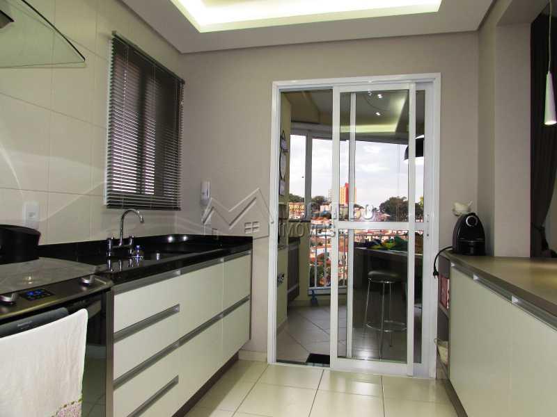 Cozinha - Apartamento Condomínio Edifício Panorama, Itatiba, Centro, SP À Venda, 3 Quartos, 118m² - FCAP30439 - 8