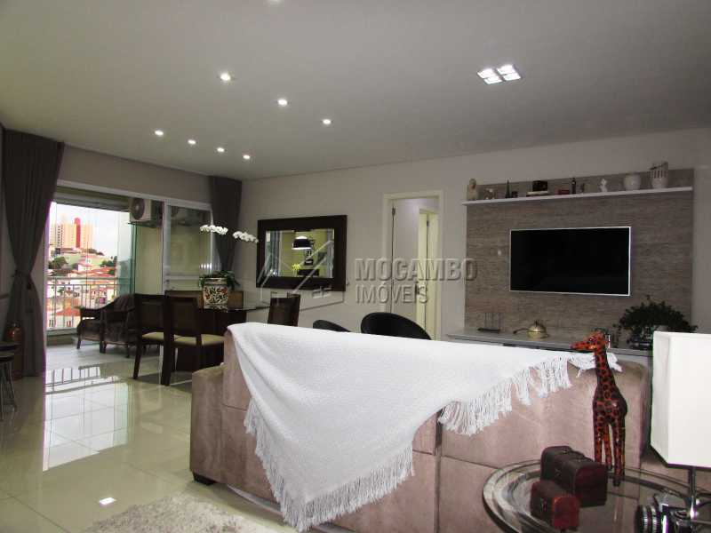Sala - Apartamento Condomínio Edifício Panorama, Itatiba, Centro, SP À Venda, 3 Quartos, 118m² - FCAP30439 - 5