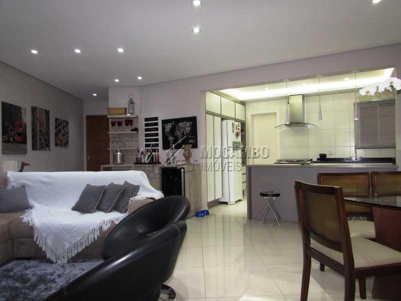 Sala - Apartamento Condomínio Edifício Panorama, Itatiba, Centro, SP À Venda, 3 Quartos, 118m² - FCAP30439 - 4
