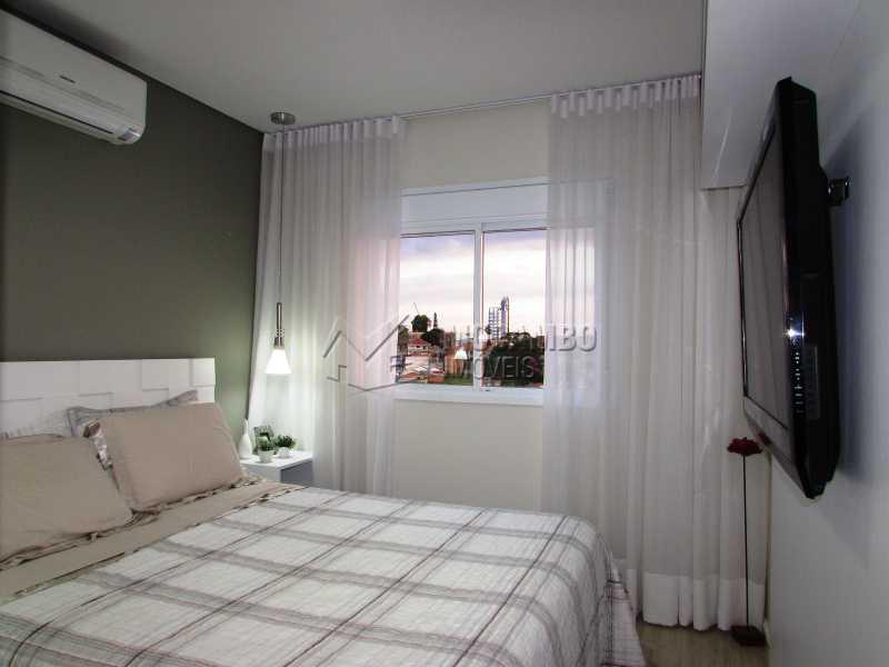 Suíte - Apartamento Condomínio Edifício Panorama, Itatiba, Centro, SP À Venda, 3 Quartos, 118m² - FCAP30439 - 12