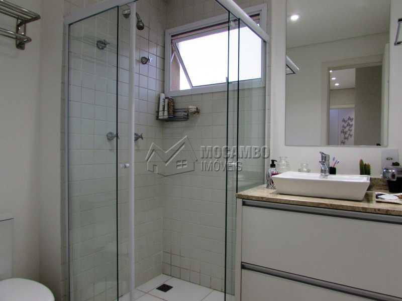 Banheiro - Apartamento Condomínio Edifício Panorama, Itatiba, Centro, SP À Venda, 3 Quartos, 118m² - FCAP30439 - 13