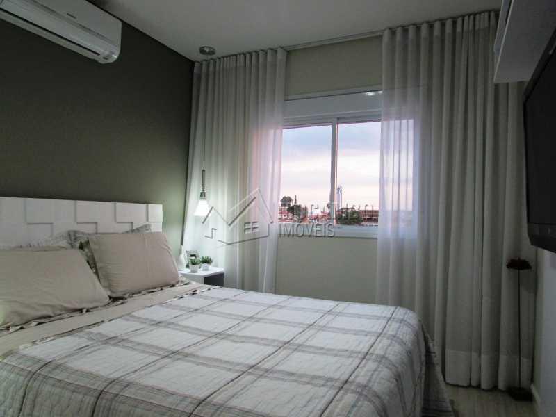 Suíte - Apartamento Condomínio Edifício Panorama, Itatiba, Centro, SP À Venda, 3 Quartos, 118m² - FCAP30439 - 14