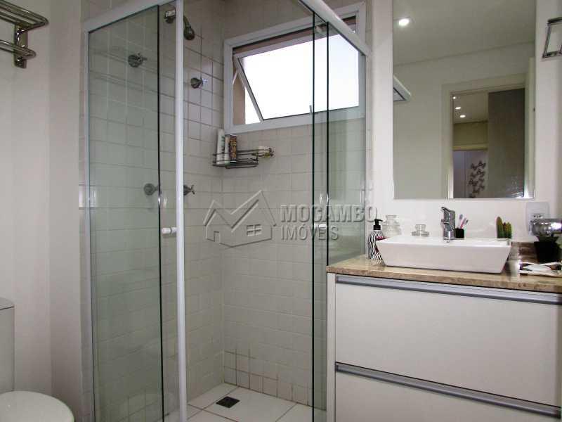 Banheiro - Apartamento Condomínio Edifício Panorama, Itatiba, Centro, SP À Venda, 3 Quartos, 118m² - FCAP30439 - 15