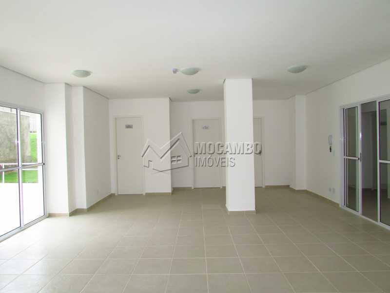 Salão de festas - Apartamento PARA ALUGAR, Mirante de Itatiba I, Loteamento Santo Antônio, Itatiba, SP - FCAP20774 - 11