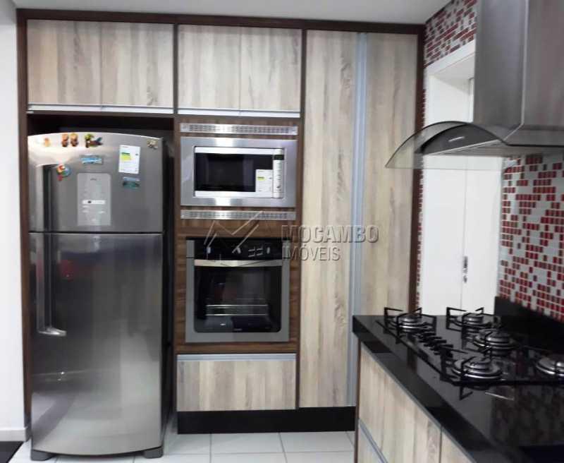 Cozinha planejada com forno - Apartamento 3 quartos à venda Itatiba,SP - R$ 840.000 - FCAP30441 - 4