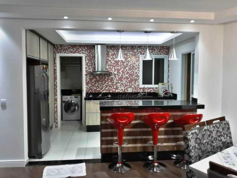 cozinha planejada e balcão - Apartamento 3 quartos à venda Itatiba,SP - R$ 840.000 - FCAP30441 - 5