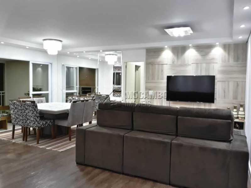 Sala de Jantar e Sala de TV - Apartamento 3 quartos à venda Itatiba,SP - R$ 840.000 - FCAP30441 - 9