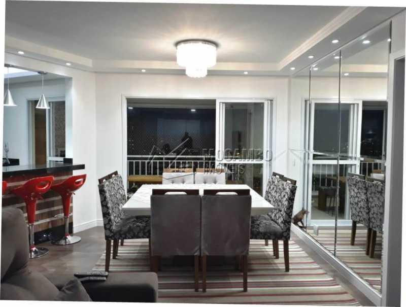 sala de jantar - Apartamento 3 quartos à venda Itatiba,SP - R$ 840.000 - FCAP30441 - 10
