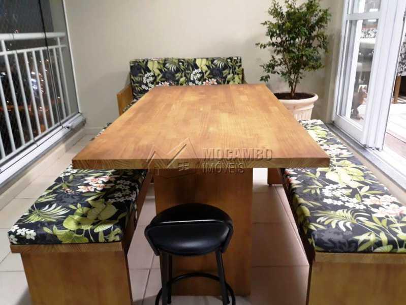 Varanda gourmet 2 - Apartamento 3 quartos à venda Itatiba,SP - R$ 840.000 - FCAP30441 - 17