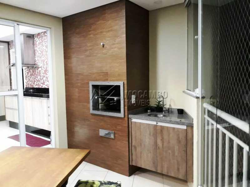 varanda gourmet - Apartamento 3 quartos à venda Itatiba,SP - R$ 840.000 - FCAP30441 - 18