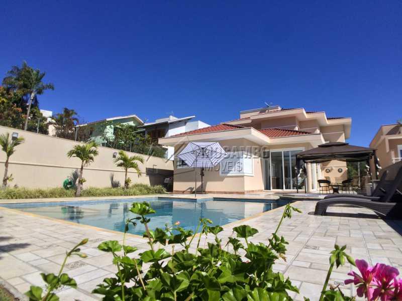 Área de lazer - Casa À Venda no Condomínio Terras de Santa Cruz - Jardim Alto de Santa Cruz - Itatiba - SP - FCCN30348 - 1