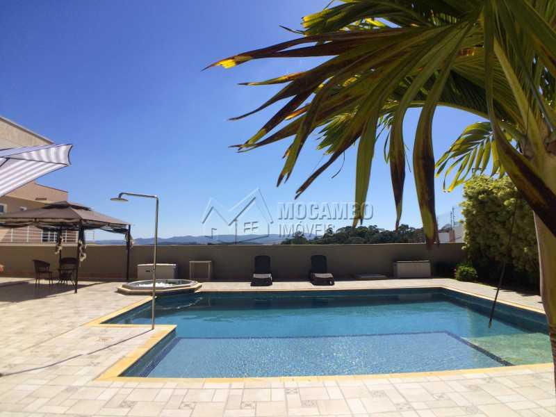 Área de lazer - Casa À Venda no Condomínio Terras de Santa Cruz - Jardim Alto de Santa Cruz - Itatiba - SP - FCCN30348 - 5