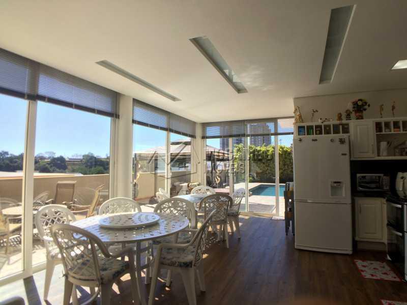 Espaço gourmet - Casa À Venda no Condomínio Terras de Santa Cruz - Jardim Alto de Santa Cruz - Itatiba - SP - FCCN30348 - 7