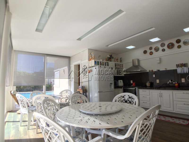 Espaço gourmet - Casa À Venda no Condomínio Terras de Santa Cruz - Jardim Alto de Santa Cruz - Itatiba - SP - FCCN30348 - 8