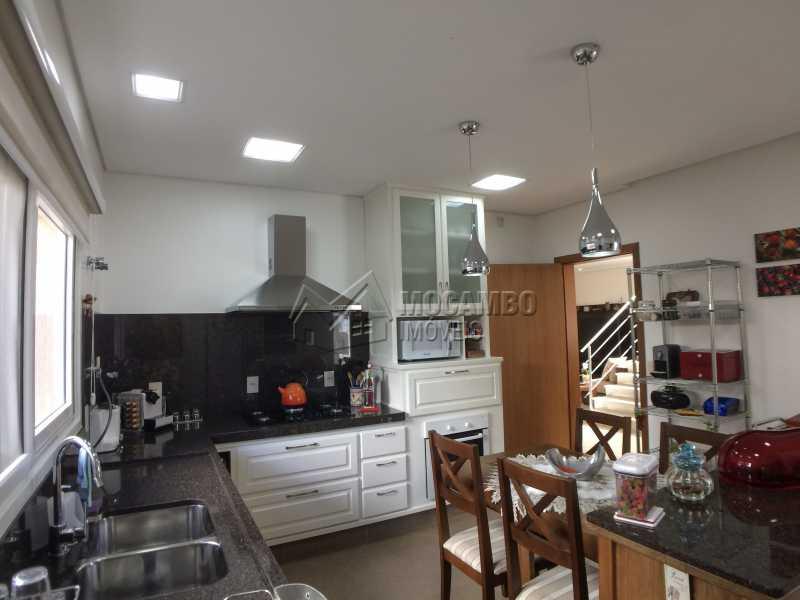 Cozinha - Casa em Condominio em condomínio À Venda - Condomínio Terras de Santa Cruz - Itatiba - SP - Jardim Alto de Santa Cruz - FCCN30348 - 25