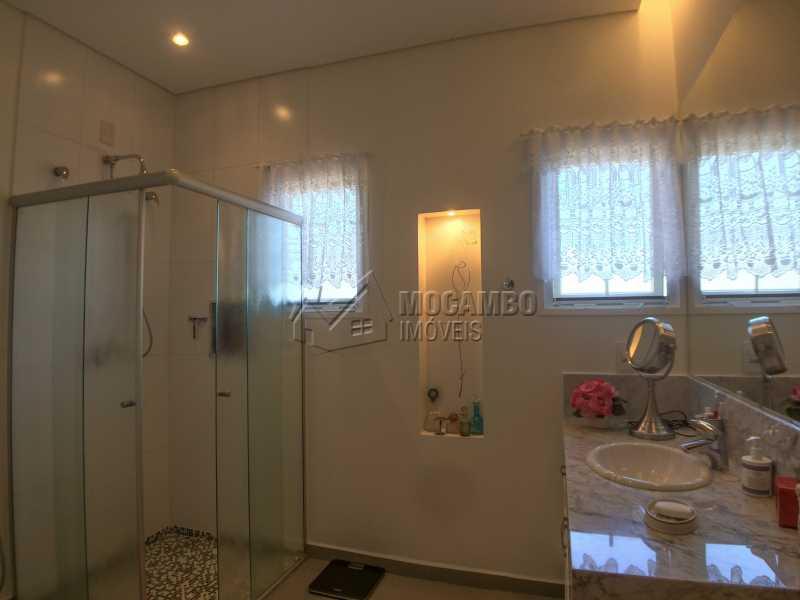 Banheiro 1 suíte principal - Casa À Venda no Condomínio Terras de Santa Cruz - Jardim Alto de Santa Cruz - Itatiba - SP - FCCN30348 - 19