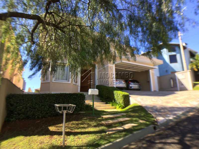 Fachada - Casa em Condominio em condomínio À Venda - Condomínio Terras de Santa Cruz - Itatiba - SP - Jardim Alto de Santa Cruz - FCCN30348 - 28