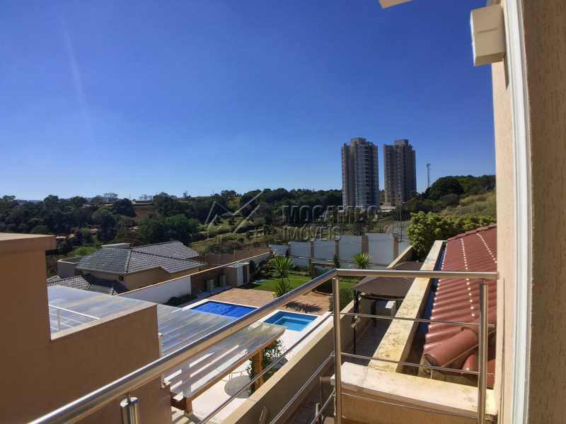 Varanda suíte 2 - Casa em Condominio em condomínio À Venda - Condomínio Terras de Santa Cruz - Itatiba - SP - Jardim Alto de Santa Cruz - FCCN30348 - 22