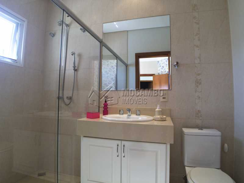 Banheiro suíte 2 - Casa À Venda no Condomínio Terras de Santa Cruz - Jardim Alto de Santa Cruz - Itatiba - SP - FCCN30348 - 23