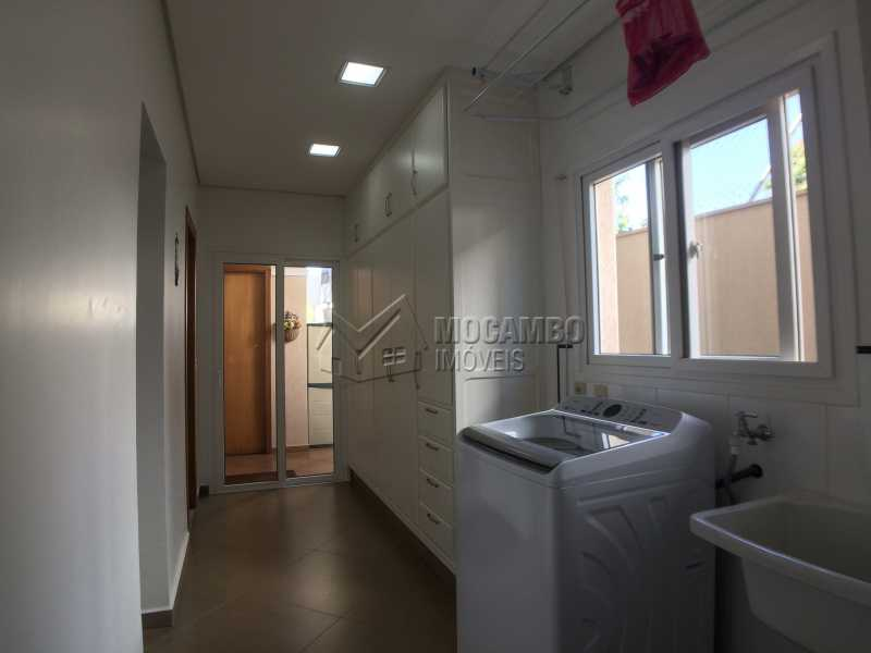 Área de serviço - Casa À Venda no Condomínio Terras de Santa Cruz - Jardim Alto de Santa Cruz - Itatiba - SP - FCCN30348 - 26