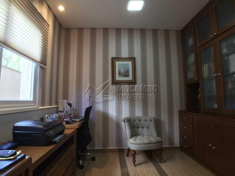 Escritório - Casa À Venda no Condomínio Terras de Santa Cruz - Jardim Alto de Santa Cruz - Itatiba - SP - FCCN30348 - 13
