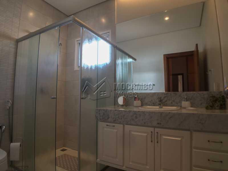 Banheiro 2 suíte principal - Casa em Condominio em condomínio À Venda - Condomínio Terras de Santa Cruz - Itatiba - SP - Jardim Alto de Santa Cruz - FCCN30348 - 20