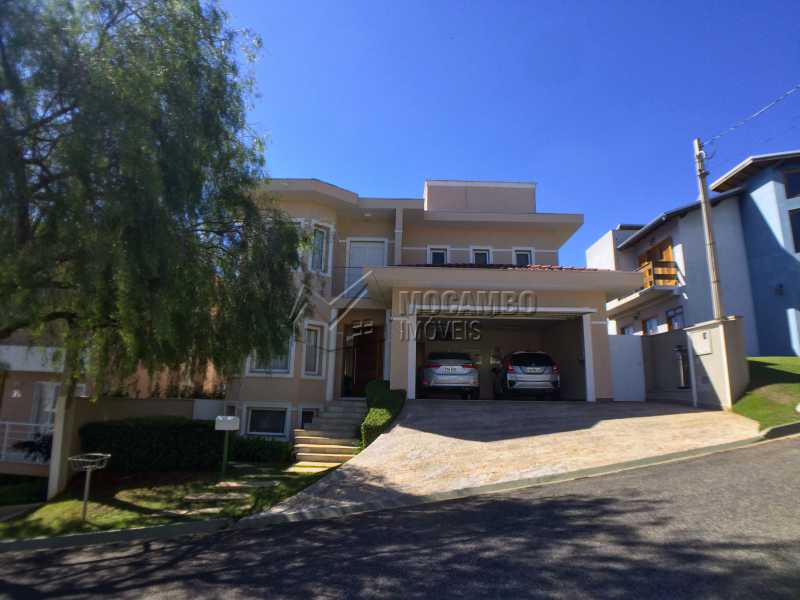 Fachada - Casa À Venda no Condomínio Terras de Santa Cruz - Jardim Alto de Santa Cruz - Itatiba - SP - FCCN30348 - 29