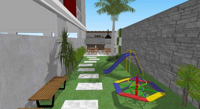 Área de Lazer  - Apartamento Lançamento Itatiba Hill Alta Vista Itatiba, Loteamento Morrão Da Força, SP, À Venda, 2 Quartos, 50m² - FCAP20782 - 5