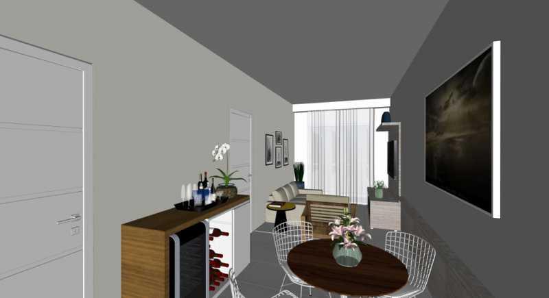 Salas Apto  - Apartamento Lançamento Itatiba Hill Alta Vista Itatiba, Loteamento Morrão Da Força, SP, À Venda, 2 Quartos, 50m² - FCAP20782 - 9